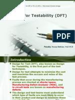Electronic Syatem Design ppt- Design for Testability