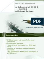 Electronic Syatem Design ppt- Electrical Behaviour of CMOS