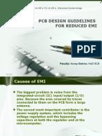 Electronic Syatem Design ppt- Pcb Design Guidelines for Reduced Emi