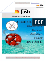 CBSE CBSE Class 12th Chemistry Solved Question Paper 2011 Set II eBook