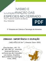 CERRADO-Extrativismo e Preservação
