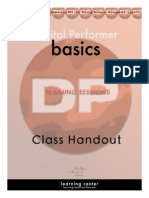 Digital Performer Basics