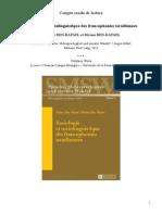 Compte Rendu de Lecture Sociologie Et Sociolinguistique Des Francophonies Israéliennes