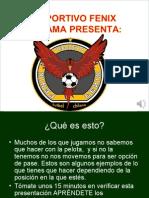 Movimientos en el futbol 7