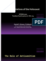 3 Antisemitic Ism and the Holocaust