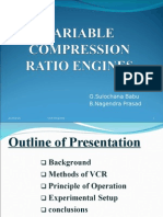 VARIABLE COPRESSION RATIO ENGINES.ppt