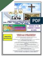 Gaceta Juvenil Ecb Nº 70 Febrero y Marzo 2015
