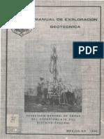 Manual de Exploracion Geotecnica