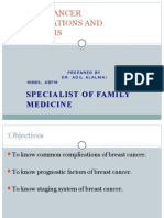 Breast Cancer Complications and Prognosis Last
