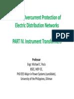 PART IV. Instrument Transformers