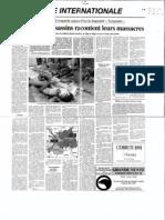 1994-06-29 Le Figaro Les Assassins Racontent Leurs Massacres
