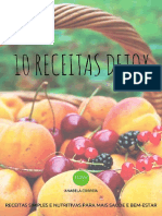 10 Receitas Detox