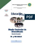 Educacion Fisica VI - VII Ciclo