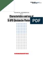 Characteristics APD