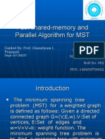 Parallel Algorithm for MST
