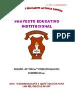 Institucion Educativa Antonia Santos Monteria PEI 2015