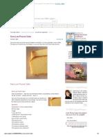 Sara Lee Pound Cake - Copy Kat Recipes