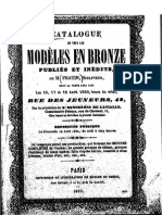 Fratin Catalogue Vente Bronzes 1850