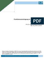 Abschlussbericht Funktionsvereinigung in Der Lagertechnik