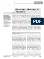 Anidulafungin _ Advantage for Newcomer