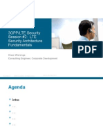 Security Session 2 - LTE Security Architecture Fundamentals - V1