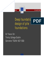 08UP Orr Deep Foundations Design of Pile Foundations