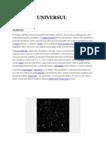 Universul  definitie