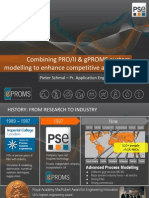 SS DES-04B Combining PROII and GPROMS Custom Modelling to Enhance Competitive Advantage
