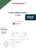 Lec 04 Linear Algebra
