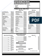 Aberrant 2 Page Character Sheet