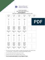 Weekly Schedule of MBA 2015 SIVA Week 8 (1)