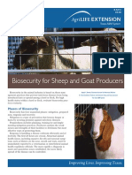 Bio Security for Sheep and Goats