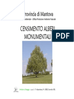 Presentazione alberi monumentali Provincia di Mantovaa