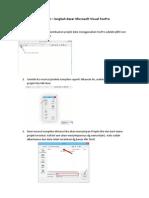 Langkah Microsoft Visual FoxPro