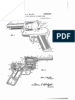 Post 6 73449 Wonderful Autorevautomatic revolver with recoiling cylinder patent