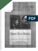 Mario Oliva Medina - Dos Peruanos en Repertorio Americano