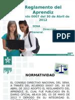 Reglamento aprendiz presentación acuerdo 0007 de 2012-120706104139-phpapp02