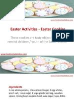 Easter Activities - Easter Cookies