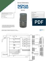 Nokia c3 00 Rm 614 Service Schematics