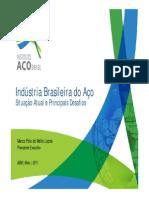 Indústria Brasileira Do Aço - Maio2011