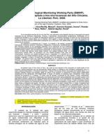 Bioindicadores bentonicos (Trujillo-Perù)