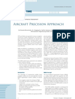 Aircraft Precision Approach - GPS Galileo Performance Assesment