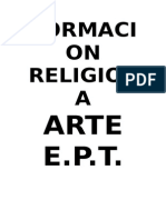 Formacion Religiosa