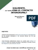 El contacto intergrupal.ppt