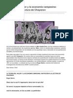 Kmarx.wordpress.com-La Teoría Del Valor y La Economía Campesina Invitación a La Lectura DeChayanov