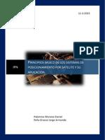 Principios Básicos de los sistemas de posicionamiento y su aplicación