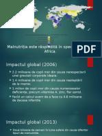 Malnutriția - problema globala