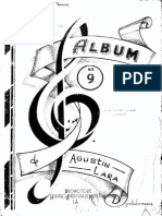 Agustin Lara - Album No 9