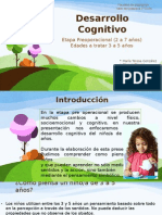 Presentacion Del Desarrollo Cognitivo de 3 a 5 Anos