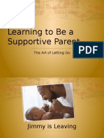learning how to be a supportive parent